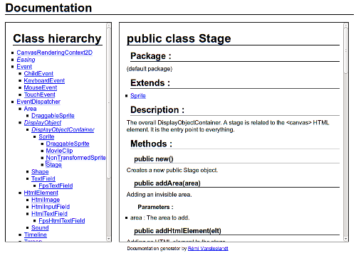 Documentation example